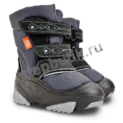 *4022 SNOW STORM Сапожки (22-29) серый