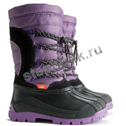1304 SAMANTA Сапожки (25-35) фиолет