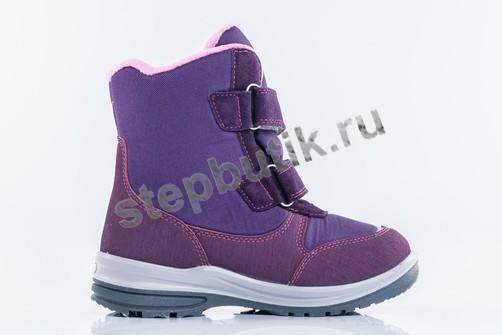 654980-41 Котофей Ботинки мембрана (32-35) фио-роз
