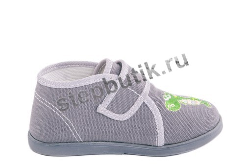 251002-71 Ботинки текстиль (23-26) серый