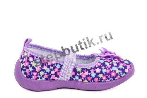431070-11 Котофей Туфли текстиль (26-31) фиолет