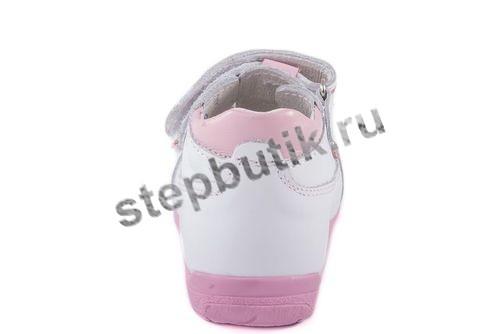 022045-22 Туфли (19-22) бело-роз