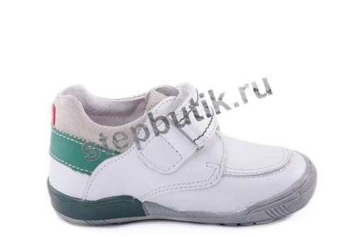 232043-21 Котофей Полуботинки (23-26) белый