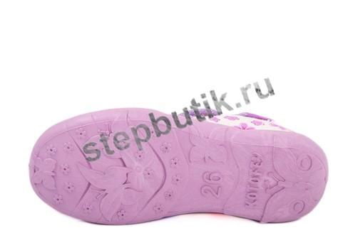 431046-72 Туфли текстиль (26-31) сиреневый