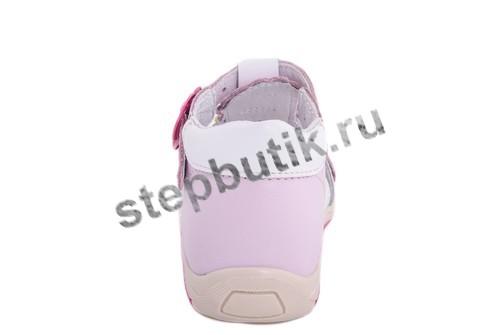 222082-22 Босоножки (23-26) роз-бел