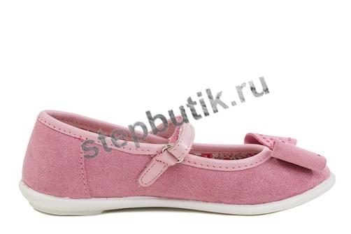 432119-73 Котофей Балетки (27-32) роз