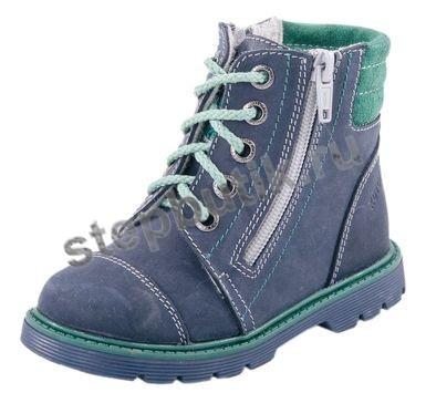 *252102-33 Ботинки (23-26) синий
