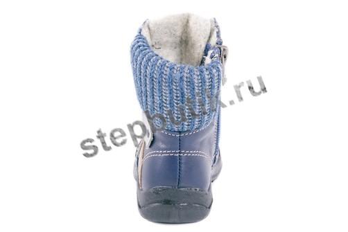 352086-31 Котофей Ботинки байка (25-28) син