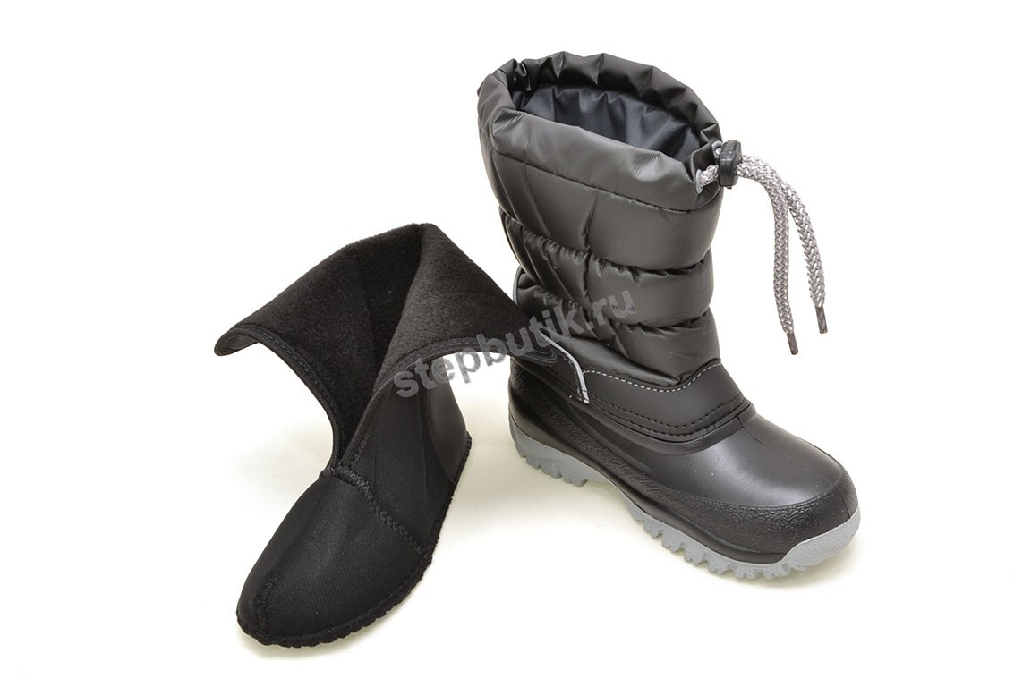 1354 LUCKY Сапожки (25-35) черный