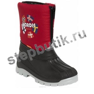 1312 NEW NORDIC Сапожки (25-35) красный