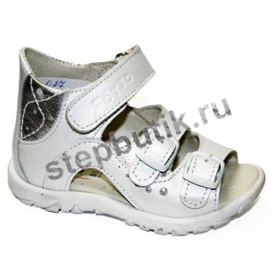 027-9,022 ТОТТО Босоножки р.20 белый