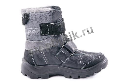 752050-42 Котофей Ботинки (36-40) чер