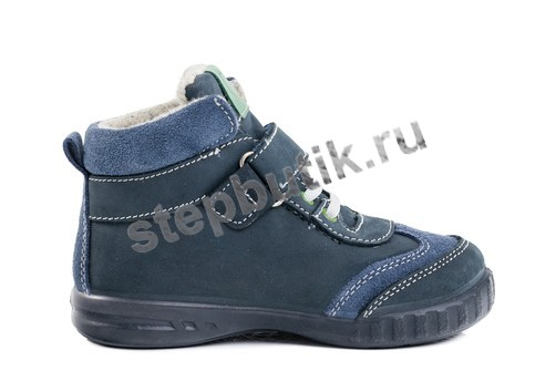 352133-31 Котофей Ботинки (25-29) син-зел