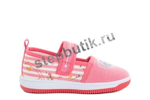 231103-12 Котофей Туфли текстиль (22-27) коралл