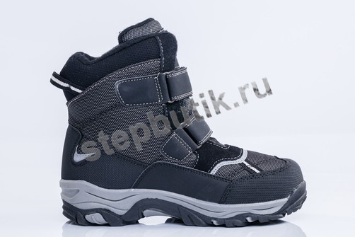 654953-42 Котофей Ботинки мембрана (31-37) чер-сер