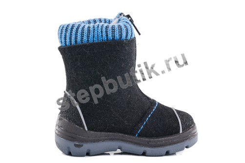 367103-41 Котофей Валенки (23-31) чер-гол