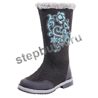 667016-41 Котофей Валенки (33-37) чёр