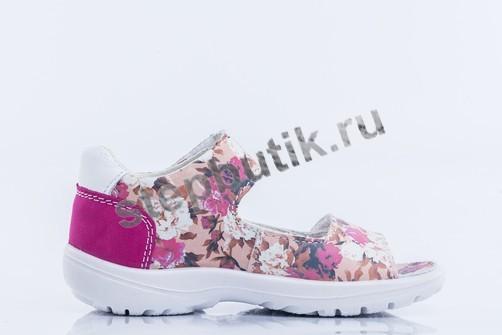 322061-21 Котофей Босоножки (25-28) роз-цветы